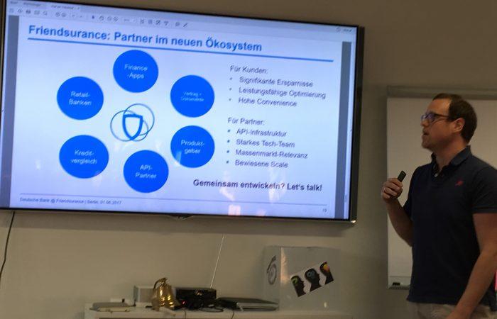 Neue B2B Produkte von @finanzcheck_de und @friendsurance #fintechHH